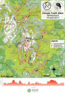 parcours 42km climate trail